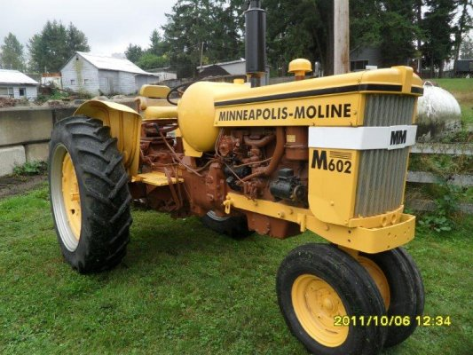 Minneapolis Moline Tractor Paint Codes