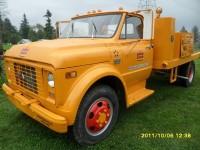 #119- 1969 GMC Model 5500 – Flat Deck