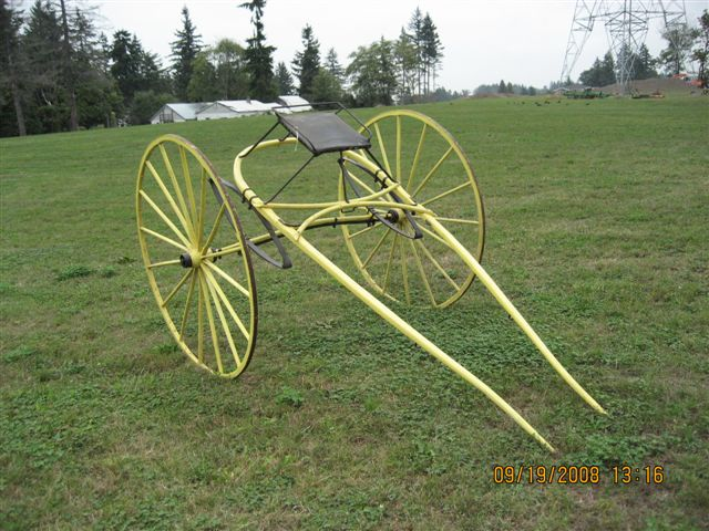 how to build a horse drawn cart