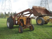 #30- Minneapolis Moline  5 Star c/w Loader  Farm Tractor