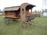 #94 – Horse Drawn Library Wagon  CA 1920'S